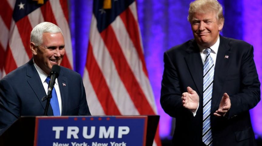 TRUMP CHOISIT MIKE PENCE COMME VICE-PRESIDENT