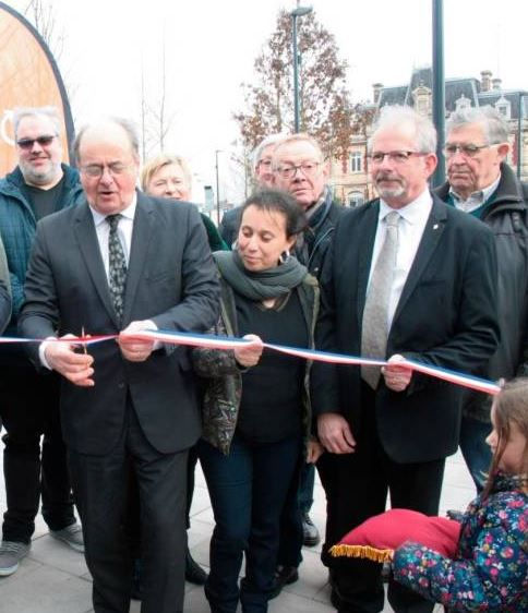 INAUGURATION DE LA PLACE THOREL A LOUVIERS