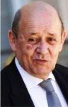 Jean-Yves Le Drian, ministre de l'Europe et des Affaires étrangères