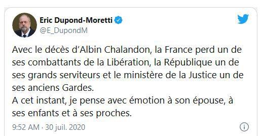 ALBIN CHALANDON, UN DES DERNIERS BARONS GAULLISTES