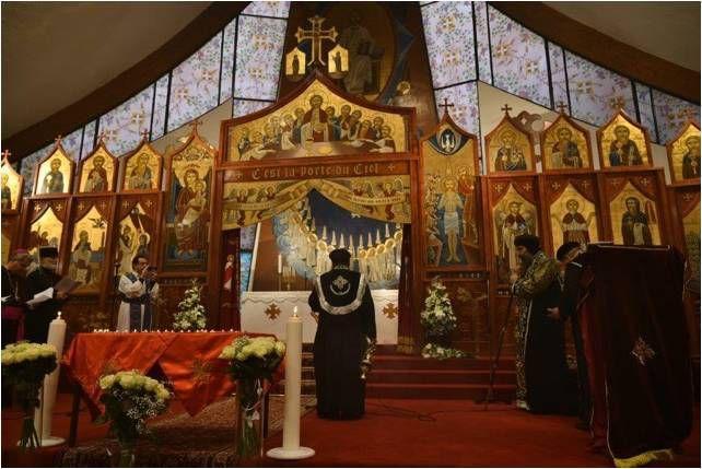 Chatenay-Malabry : cérémonie à la mémoire des victimes coptes.