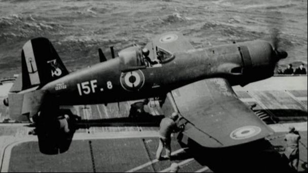 Corsair F15 de la Flottille 15F.