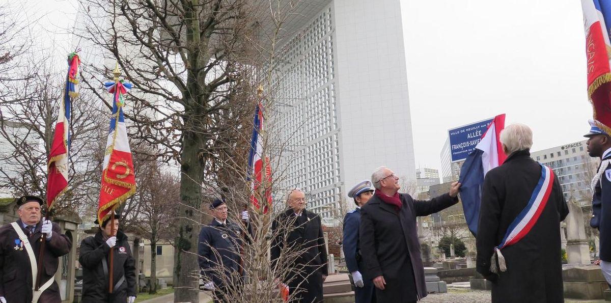 Commémoration du centenaire de la mort de François-Xavier Niessen.