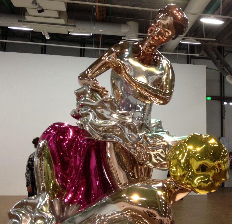 Expo Jeff Koons : splendides oeuvres - Centre Beaubourg-4eme