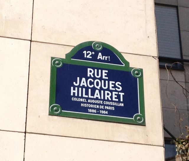 Rue Jacques Hillairet - 12eme
