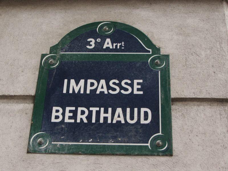 Impasse Berthaud - 3eme