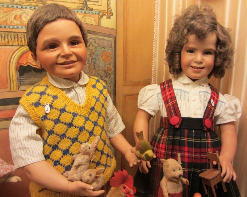 Musée de la poupée - Impasse Berthaud - 1ère partie - 3eme