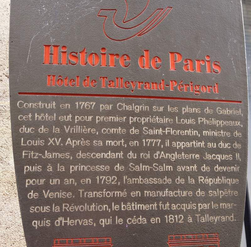 Rue Saint Florentin - 1er