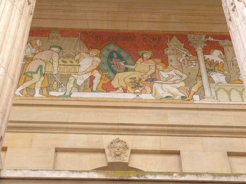 Frises extérieures Grand Palais 8eme