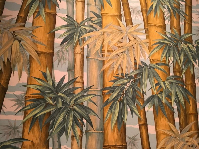 Expo Musée des arts décoratifs : 4 siècles de papiers peints : les verdoyants