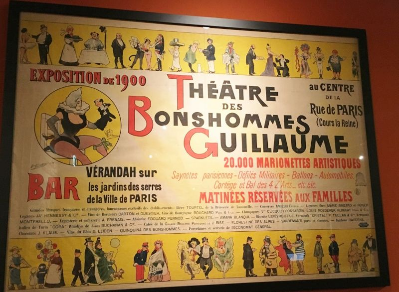 De la caricature à l'affiche 1850 - 1918 Musée Arts Décoratifs partie 1