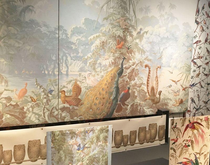 Expo Musée des arts décoratifs : 4 siècles de papiers peints