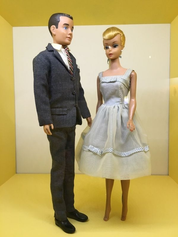 Barbie et Ken Musée Arts Décoratifs - 1er