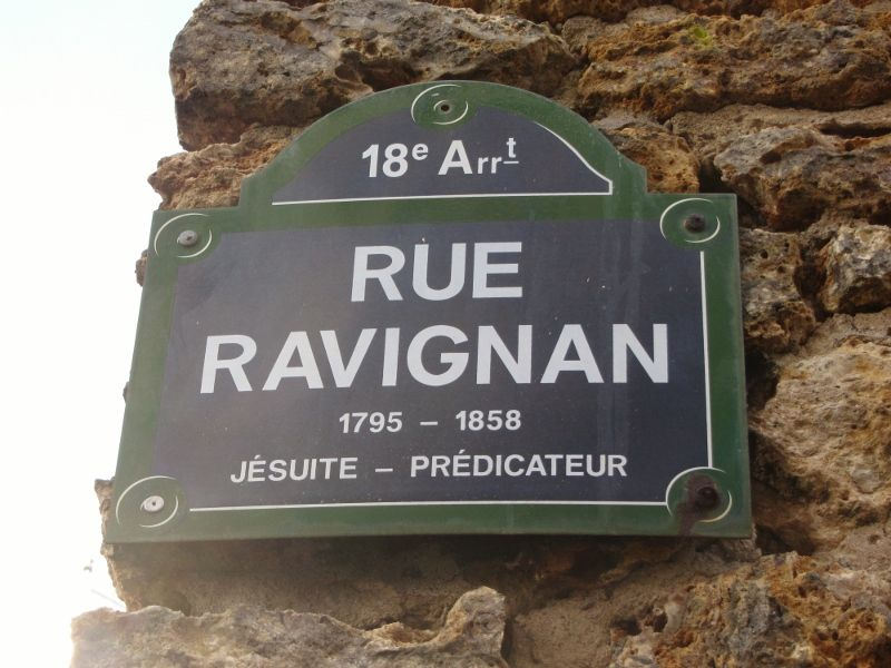 Rue de la Mire Rue Ravignan 18eme