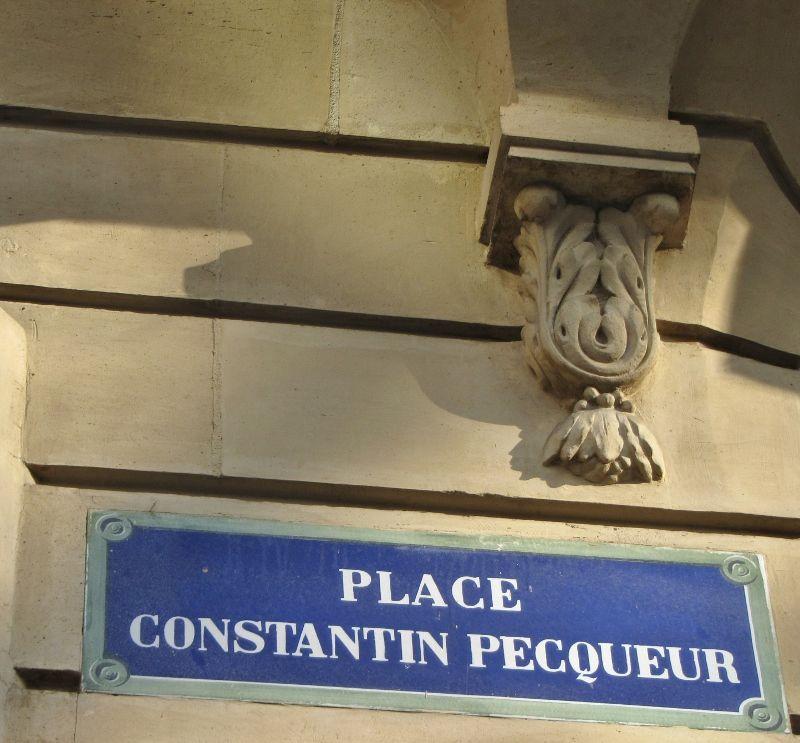 Place Constantin Pecqueur - 18eme