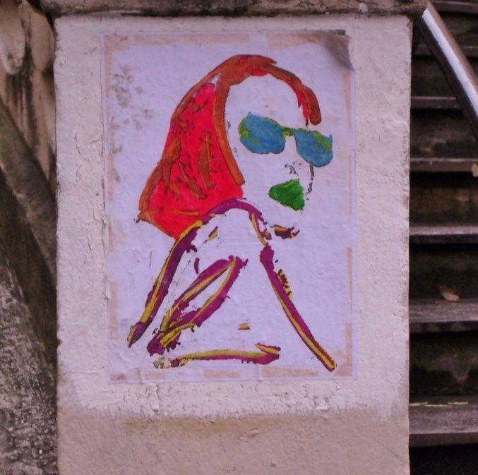 Artistes sur les murs parisiens