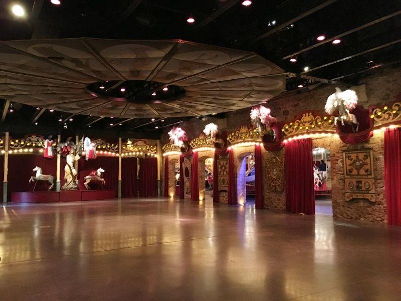 Théatre Merveilleux Musée arts forains - 12eme