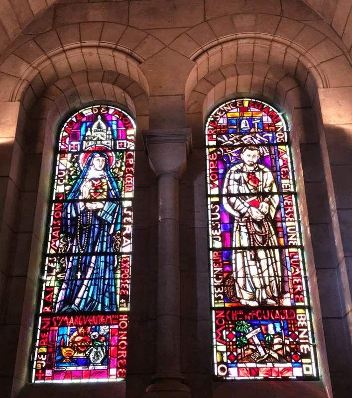 Basilique Sacré Coeur - Vitraux - 18eme