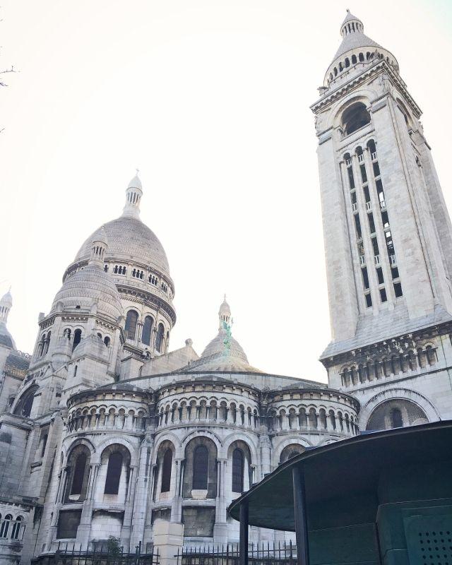 Basilique Sacré Coeur - Extérieur 18eme