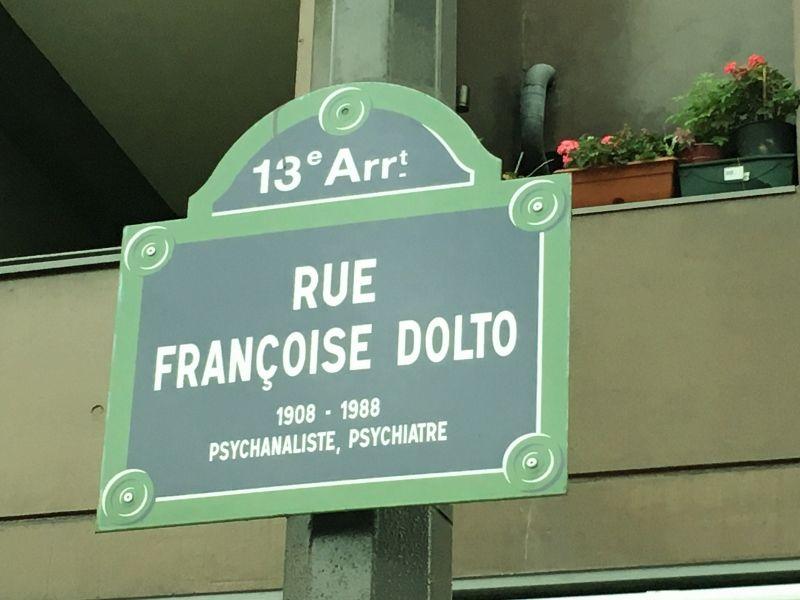 Rue Françoise Dolto 13eme