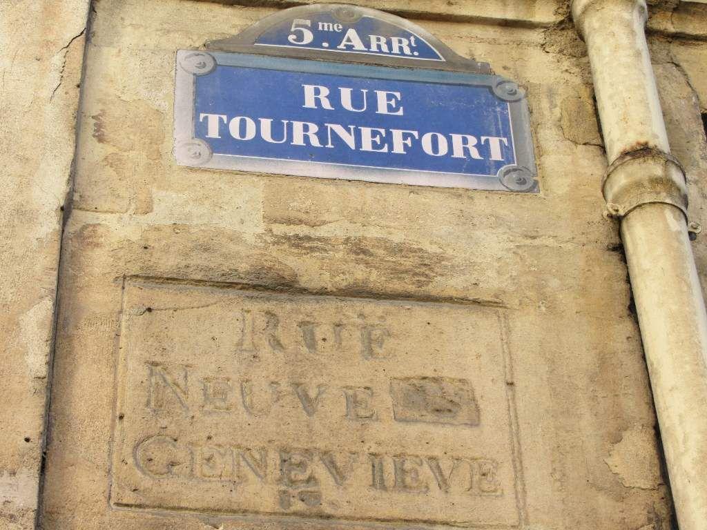 Rue Tournefort 5eme