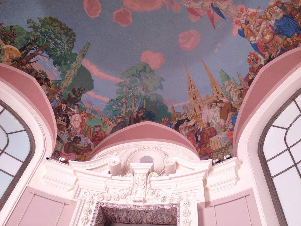 Plafond Petit Palais 8eme