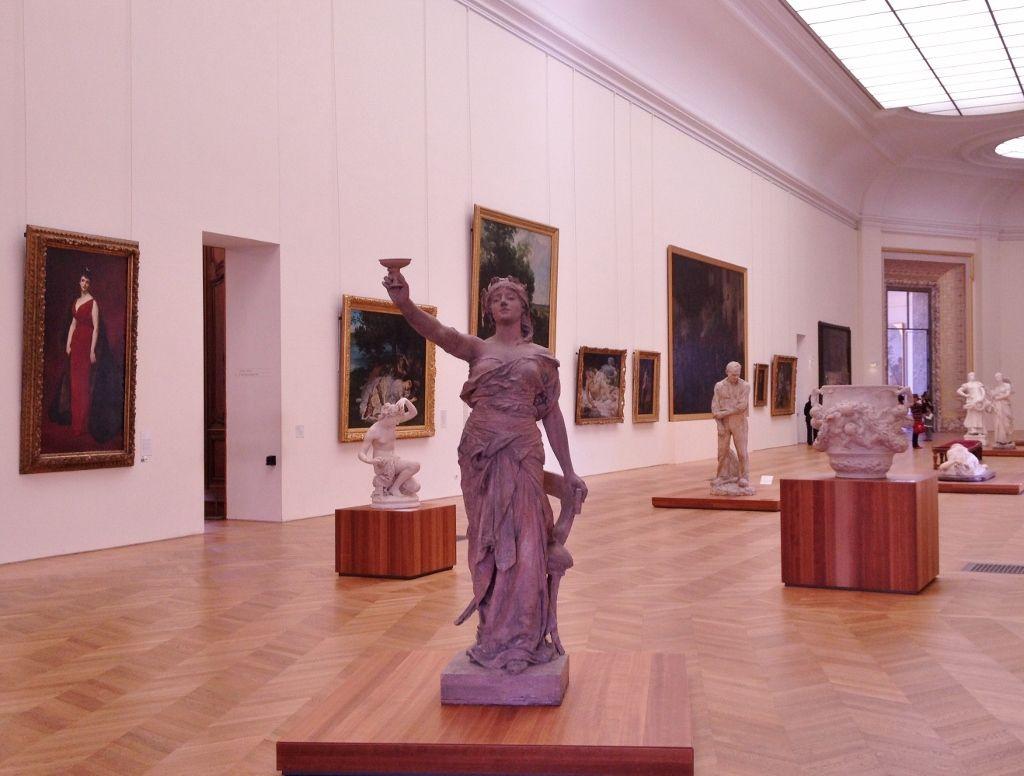 Musée Beaux arts Petit Palais 8eme