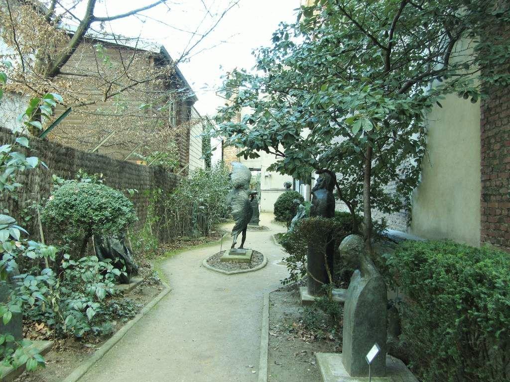 Musée Bourdelle : la cour 15eme