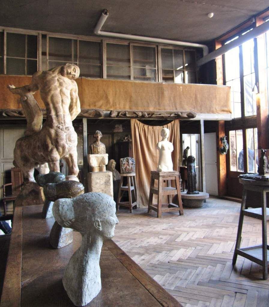 Musée Bourdelle l'atelier 15eme