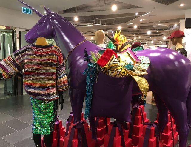 Mode fin 2017 aux Galeries Lafayette