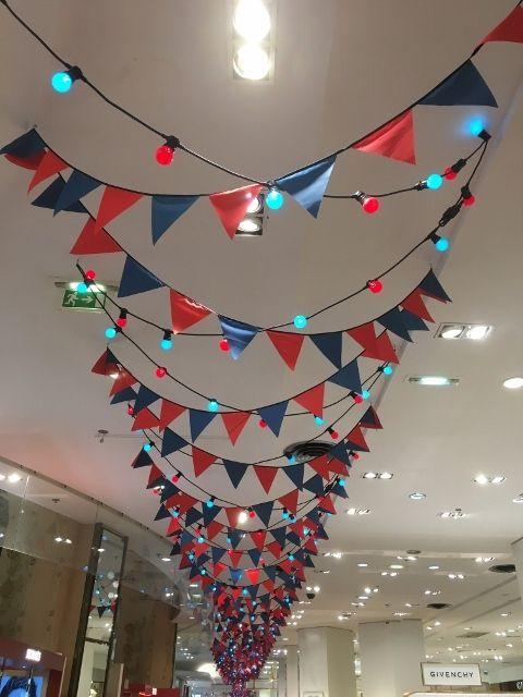 Spectacular Noel : Galeries Lafayette