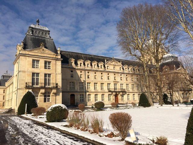Paris sous la neige 2018