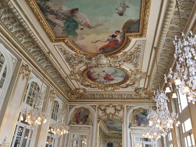 Musée d'Orsay les plafonds 7eme