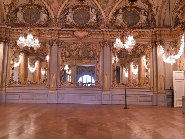 Musée Orsay la salle des fêtes 7eme