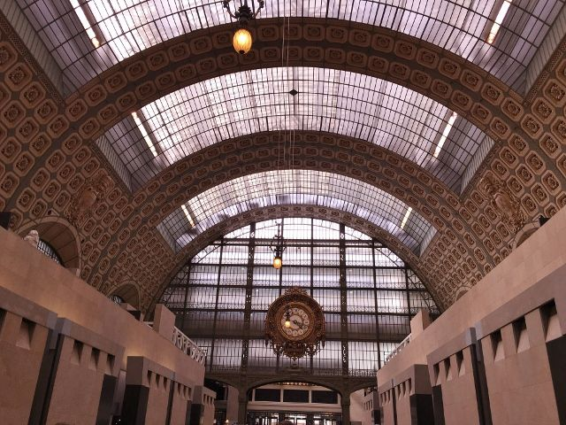 Musée ORSAY : L'horloge 7eme