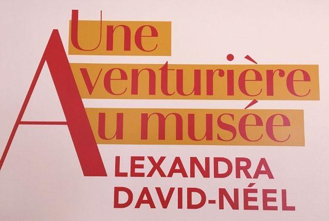 Alexandra David Néel, orientaliste au musée Guimet 16eme