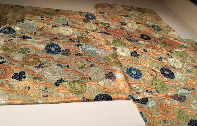 Kimonos de cour au 18eme siècle - Musée Guimet 16eme