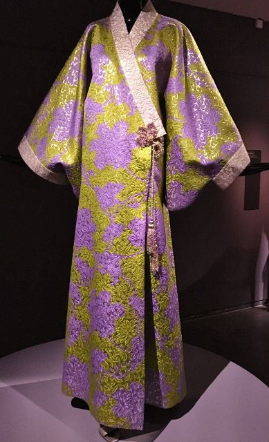 Kimonos HAUTE COUTURE - Musée Guimet 16eme