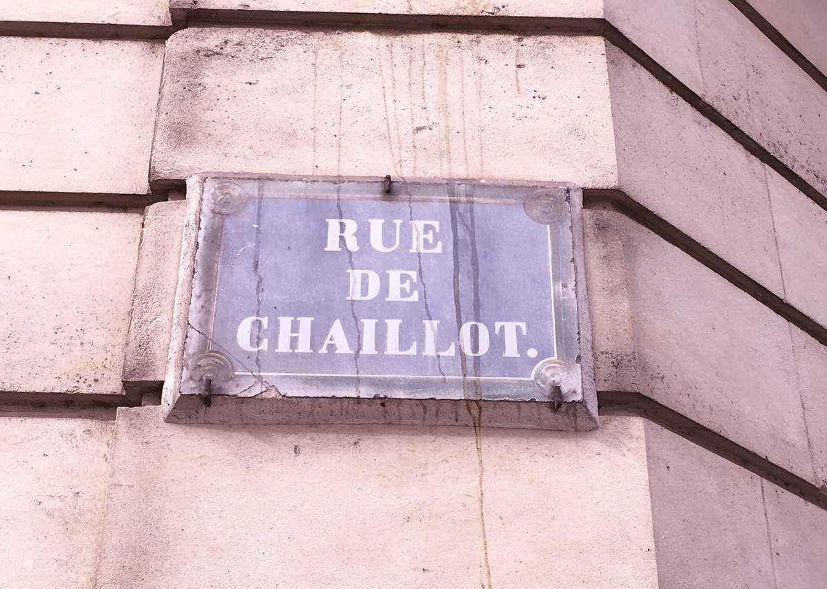 Rue Chaillot 16eme