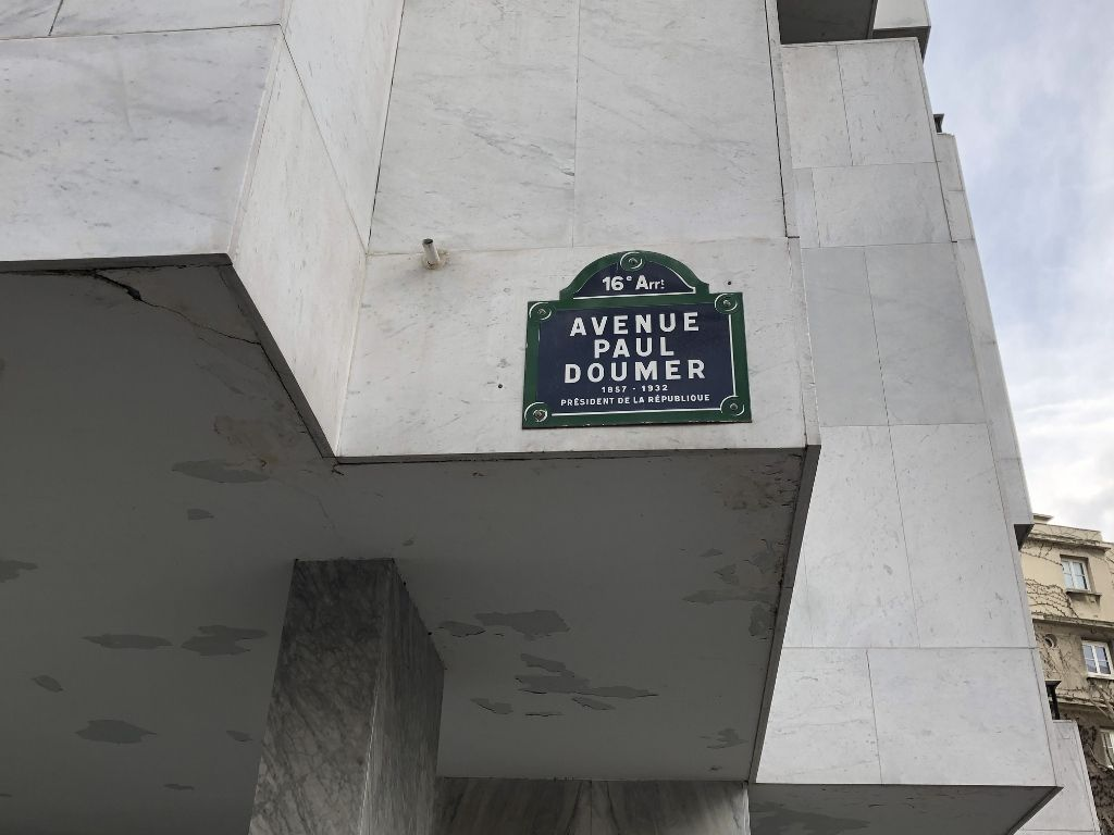 Avenue Paul Doumer 16eme