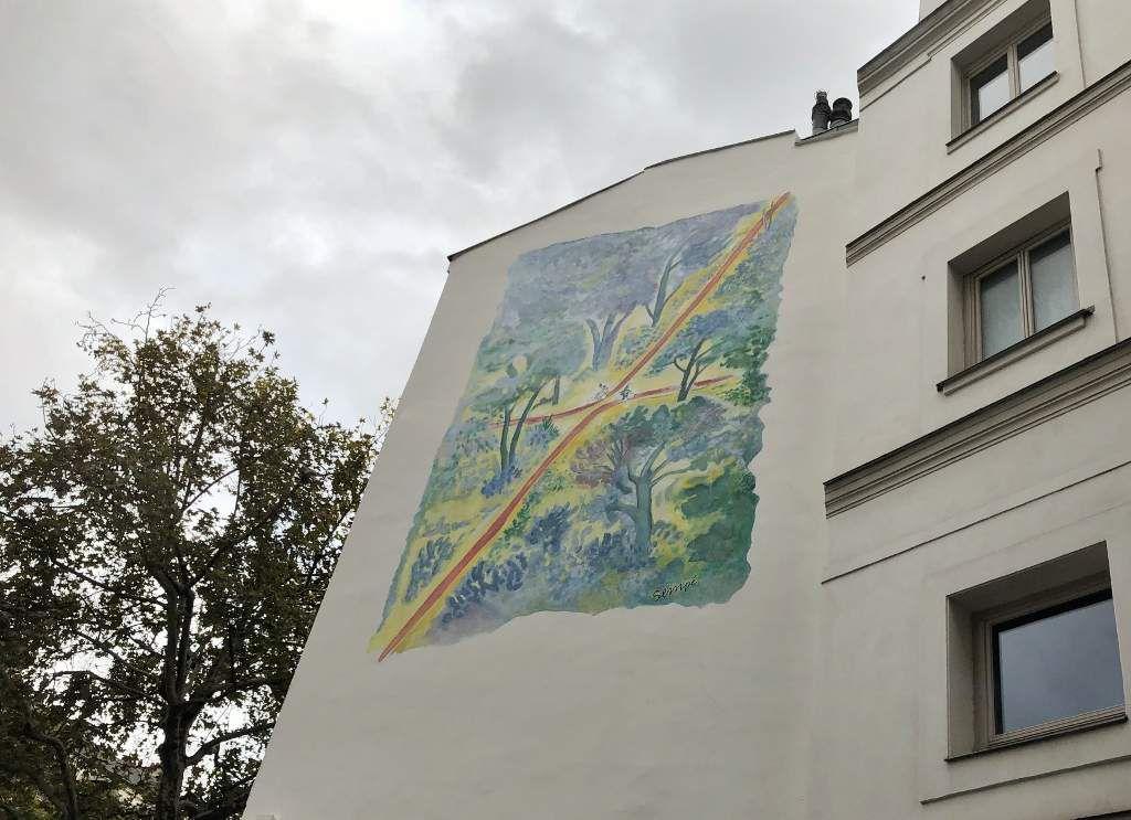 Boulevard Beaumarchais côté impair 3eme