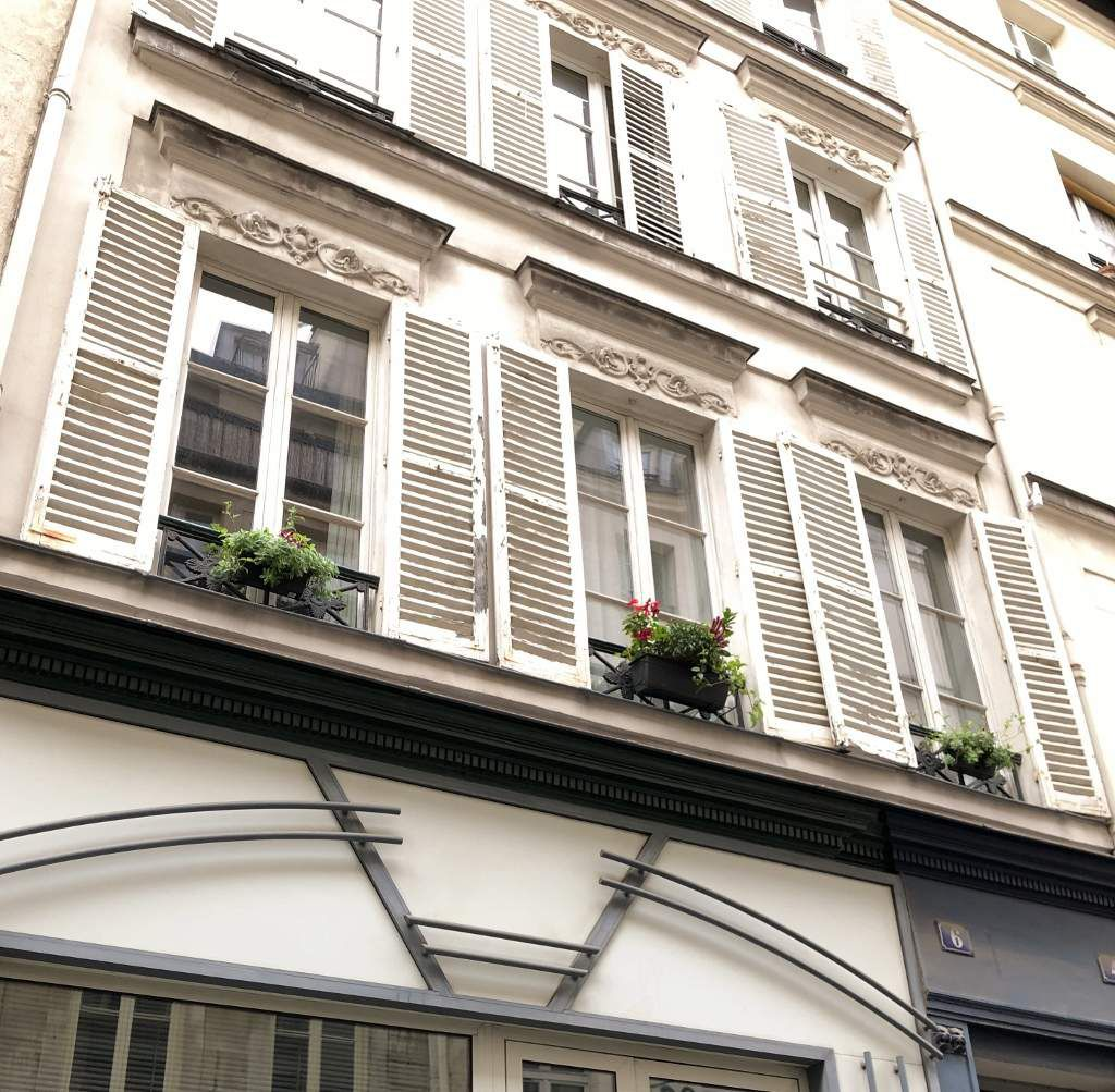 Rue du perche - Rue Saint Gilles 3eme