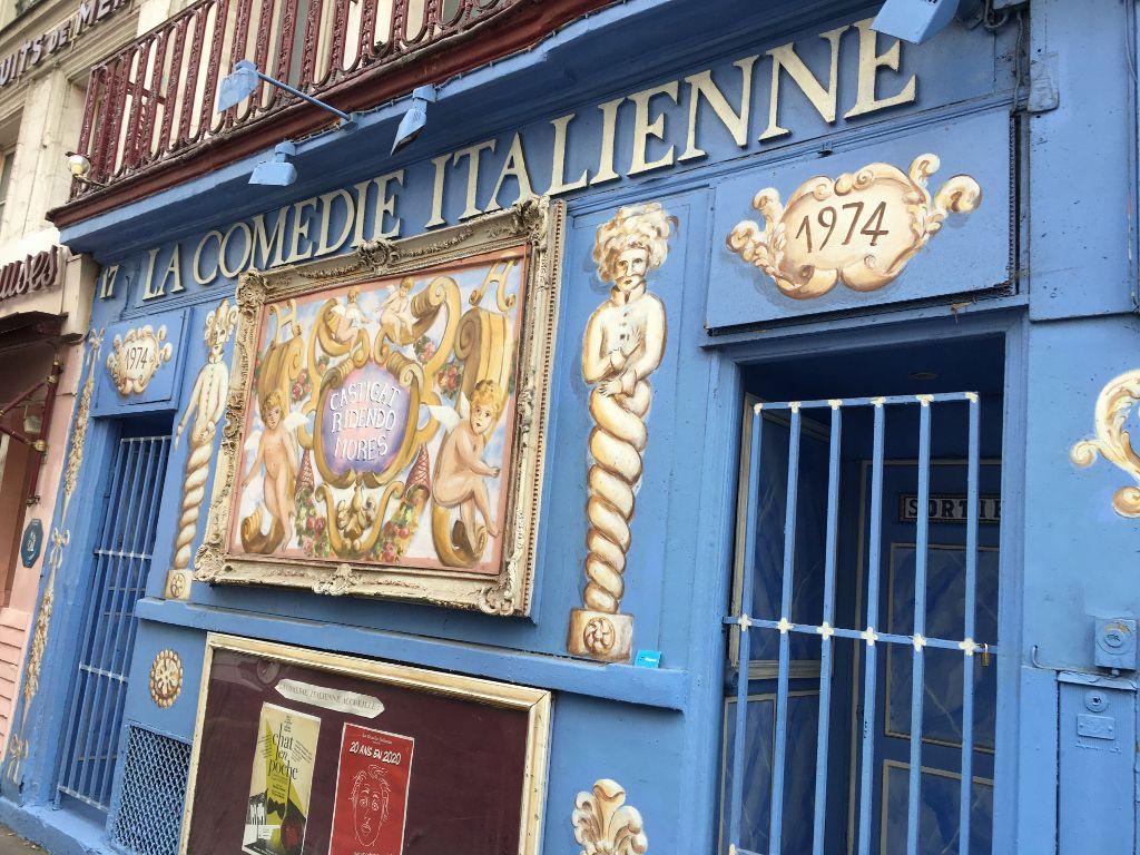 Comédie italienne - rue de la Gaité 14eme