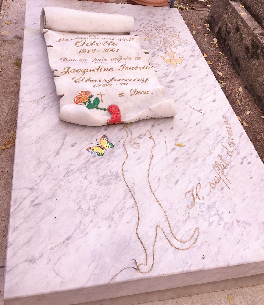 Insolite au cimetière Montparnasse 14eme