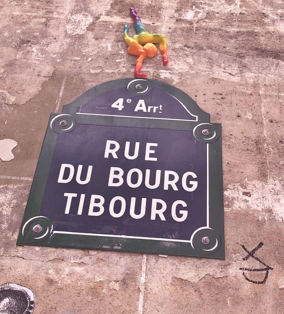 Rue du Bourg Tibourg 4eme