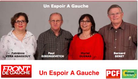 Canton de Velleron - Le Pontet: un espoir à Gauche
