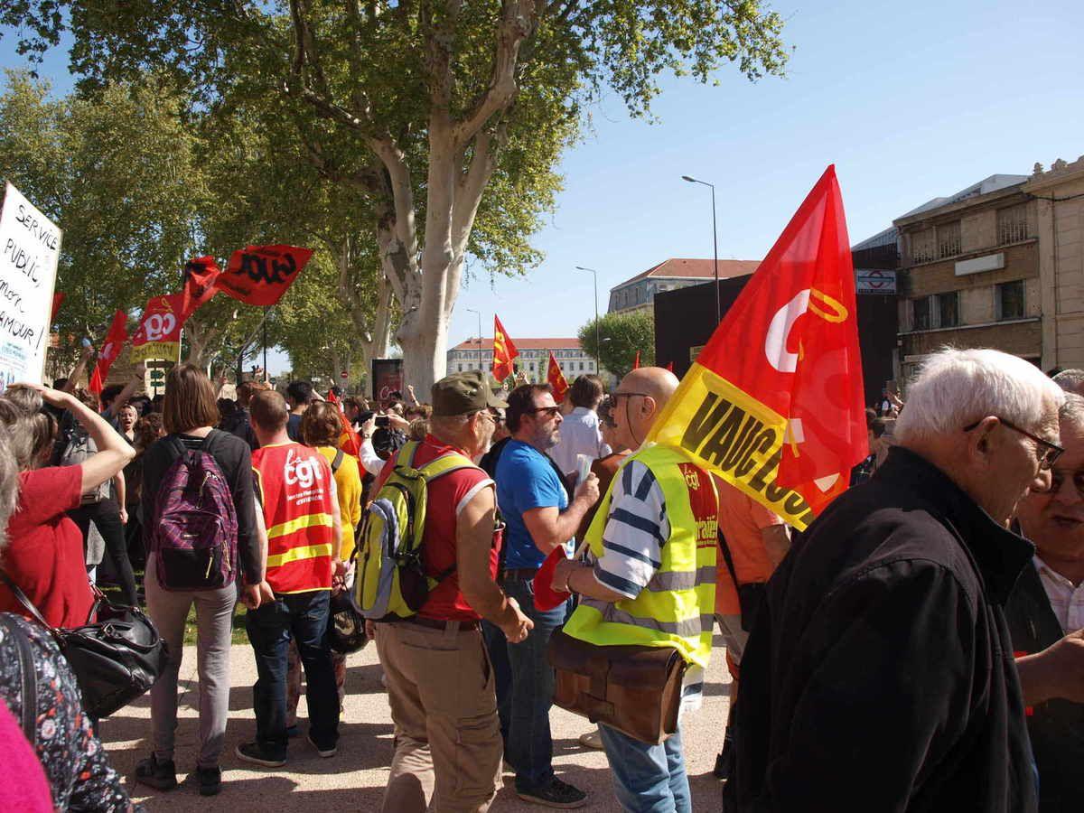 Avignon: le 19 avril la convergence des luttes en marche...