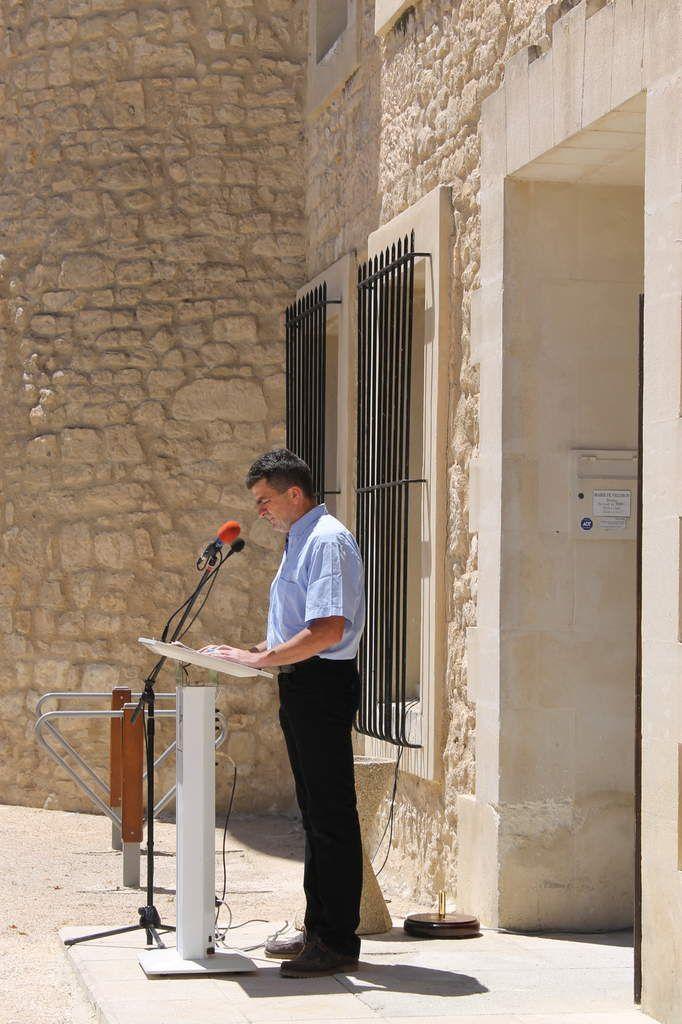 Cérémonie en hommage à notre camarade Sylvain Meyer ce 25 juin à Velleron