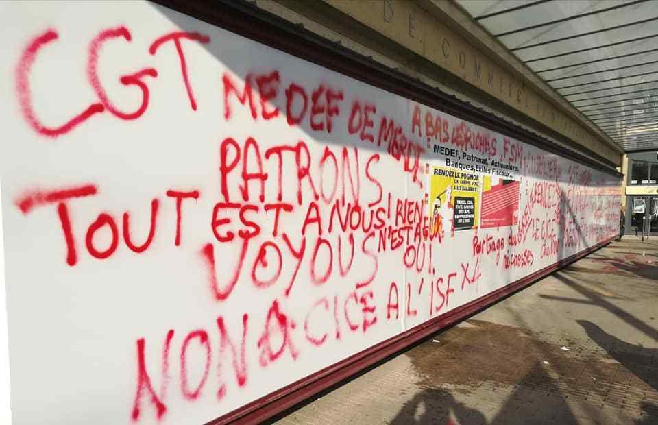 14 décembre revendicatif à Avignon,