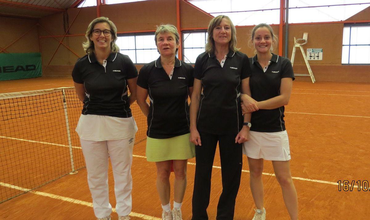 Marie-Hélène Leduc, Patricia Broos, Christiane Collet, Agathe Rault